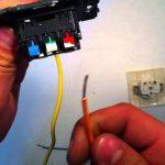 comment installer une prise électrique