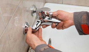 Les étapes du démontage du robinet