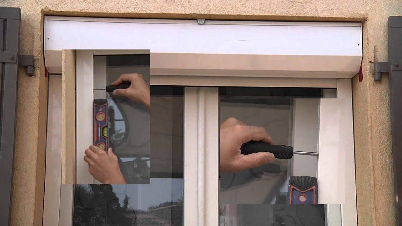 Installation de volets extérieurs