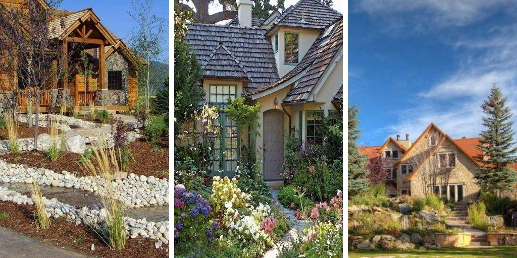 14 idées d'aménagement paysager luxuriantes pour votre cour avant
