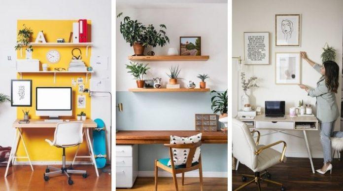 20 idées étonnantes de bureau à domicile pour booster votre créativité