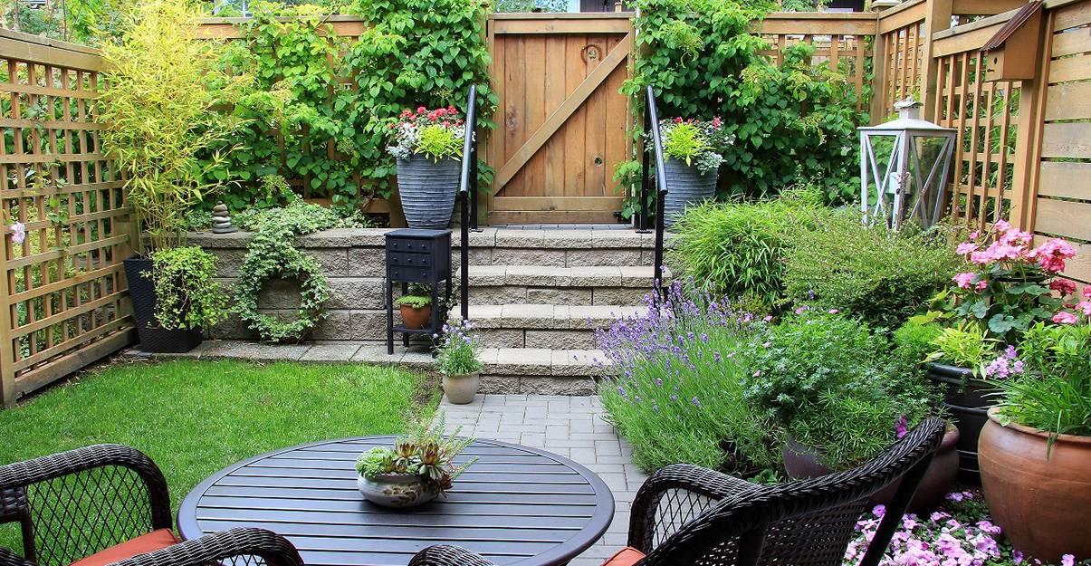 9 Idées faciles: comment agrandir un petit jardin