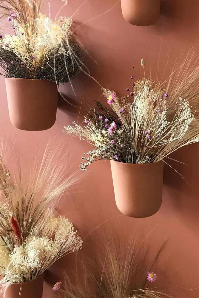 Conception de pots muraux Terra