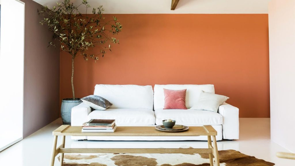 L'orange se démarque dans les couleurs tendances 2021