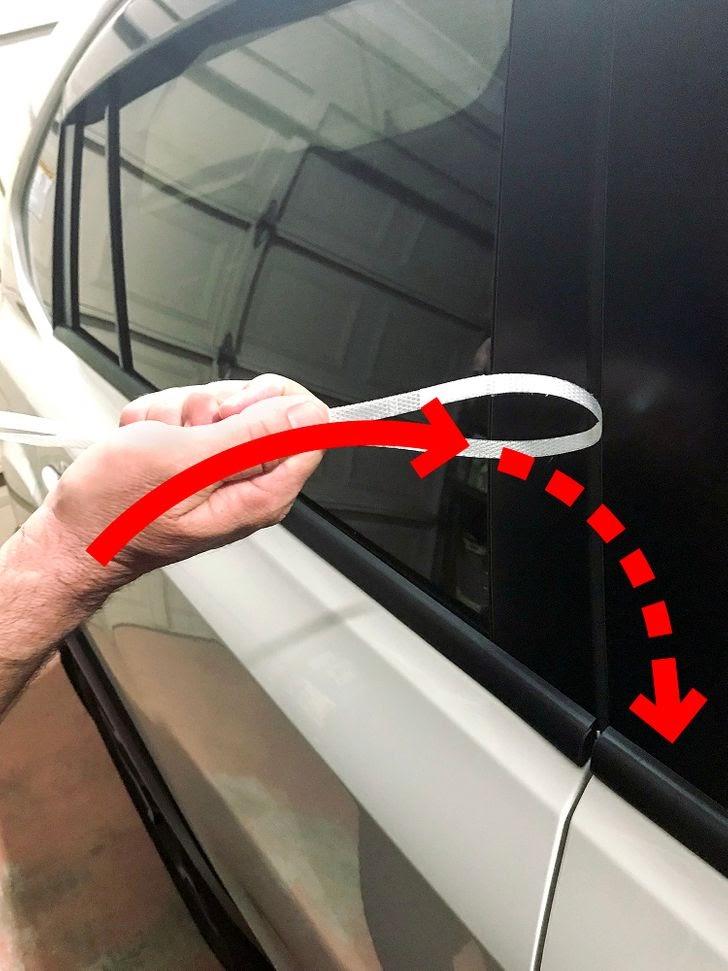 Méthode n° 7: Utilisez une bande de plastique