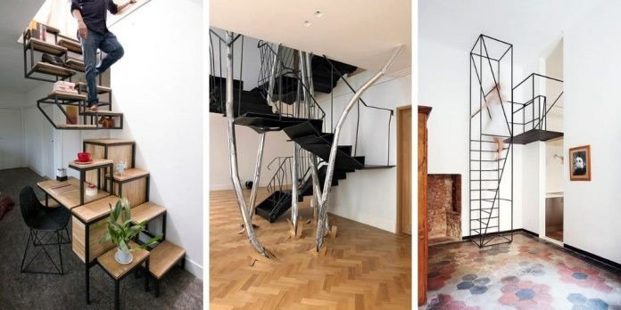 11 escaliers incroyables pour décorer votre maison