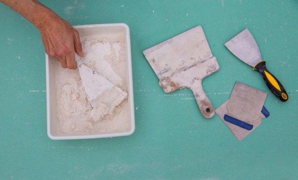 Plâtre de placage